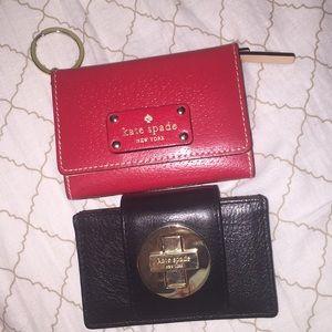 Kate Spade card holders
